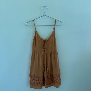 Taylor and Sage Lace Up Dress